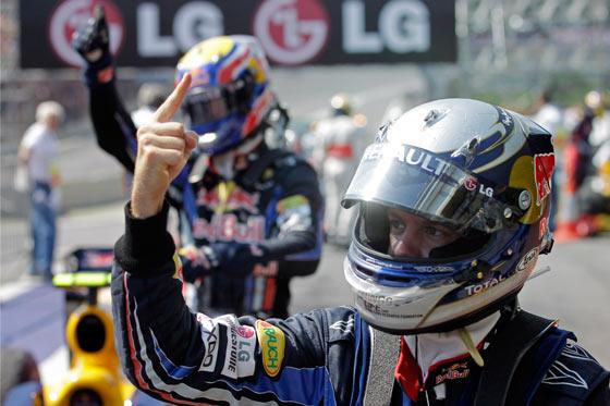 Triunfo de Vettel y título de constructores para Red Bull